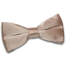 Cravates, nœuds papillon et foulards marrons en polyester pour homme