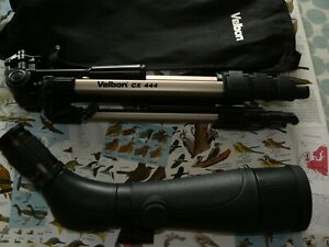 VISIONKING DS 20-60x 70mm  SPOTTING SCOPE + VELON TRIPOD -VERY NICE MODERN SCOPE