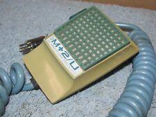 Vintage TURNER M+2/U Amplified CB/Ham Handheld Handheld Mic Microphone J0248