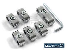 Chrome filo ad alta tensione Spina separatori DIVISORE morsetti per Contatti preselezionati 7mm igniiton