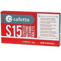 2 X CAFETTO S15 Espresso Coffee Machine Cleaning Tablets Cleaner for Super Autom