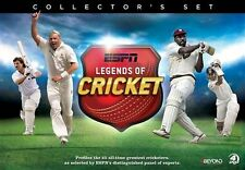 ESPN - Legends Of Cricket (DVD, 2015, 4-Disc Set) - Region 4