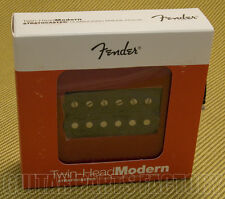 099-2218-106 Genuine Fender Twin Head Modern Bridge Humbucker Pickup Black