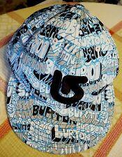 59FIFTY BURTON snowboard hat.Black BURTON logo embroidered.One size adjust.Tried