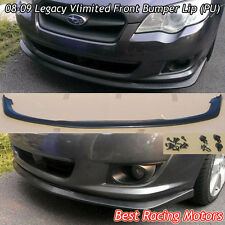 Vlimited Style Front Bumper Lip (Urethane) Fits 08-09 Subaru Legacy