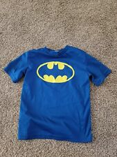 Blue Batman Swim Shirt small 6-7