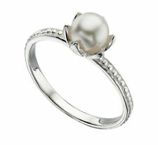 Unbranded Pearl Solitaire Fine Rings