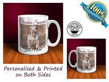 Clumber Spaniel Personalised Ceramic Mug: Perfect Gift. (D054)