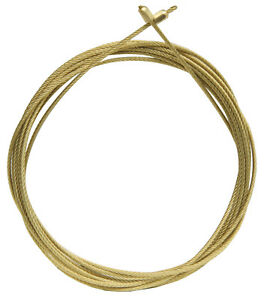 New Kieninger Pre-Cut Clock Weight Cable with Brass End Fittings - 2 Sizes!