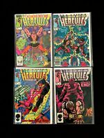 HERCULES PRINCE OF POWER #1,2,3,4 FULL SET MARVEL COMICS 1984 NM