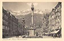 Innsbruck Austria scenic view Maria Theresienstrasse antique pc Y11973