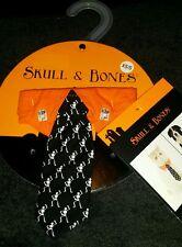 Halloween Custom Skull & Bones For Cats And Dogs Dancing Skeleton Dad'S Tie Xs-S