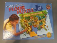 United States 100 Piece Jigsaw Puzzle 2×3 Feet Floor Puzzle Shapes Of States