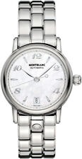 107117 |  BRAND NEW & AUTHENTIC MONTBLANC STAR STAINLESS STEEL 36MM WOMENS WATCH