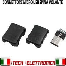 Spina volante micro USB Type B connettore Micro USB 5 pin