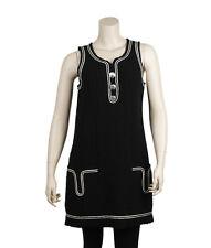 Chanel Black Wool Casual Dress, Size 4