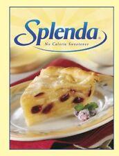 Splenda Cookbook Printed HC Illustrated Free Ship