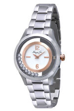 Kenneth Cole Reloj de mujer kc4910 Análogo ACERO inox. PLATA