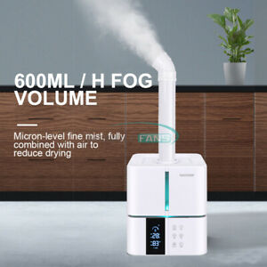 5L 30W Ultrasound Disinfection Humidifier Machine Industry Grade 110-240V