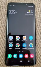 Samsung Galaxy S9+ Plus AT&T GSM (Midnight Black) Used Condition.