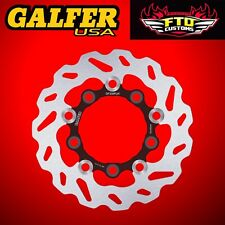 Galfer Rear Floating Wave Rotor For 2009-2017 Suzuki GSXR 1000 DF339FLW