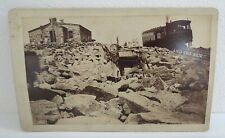 2 W E Hook Pikes Peak Mule and train gold mining prospsecting travel railroad