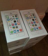 Apple Iphone 5s 16GB Nuevo Sellado Pack liberado 4G IOS Mobile Teléfono (plata)