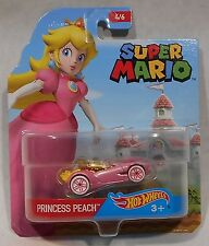 New!!  Hot Wheels Super Mario - Princess Peach Die Cast Car (#4 of 6)