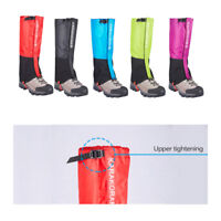 Waterproof Legging Gaiters Snow Climbing Leg Shoe Cover Boot F Outdoor Hiking