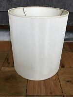 Large Vintage Barrel Drum Lamp Shade Mid Century MCM