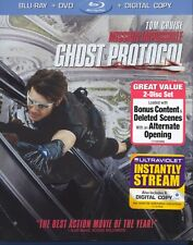 Mission: Impossible - Ghost Protocol (Blu-ray/DVD, 2012, 2-Disc Set)