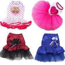 Bling Bow Cats Dog  Pet Dress Tutu Skirt Pet Luxury Princess Wedding Dresses