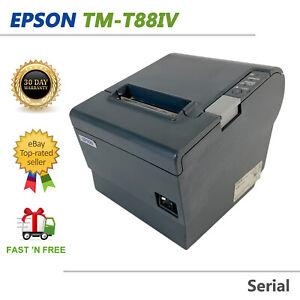 Epson TM-T88IV M129H POS Compact Thermal Receipt Printer Serial