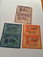 COLORADO LIQUOR REVENUE STAMPs  LOT