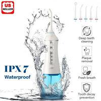 Cordless Water Flosser 300ml Dental Oral Irrigator Teeth Cleaner Floss Pick IPX7