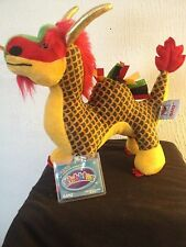 Webkinz Chinese Dragon HM718 NEW with attached UNUSED code FREE Shipping!!