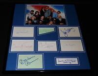 Hill Street Blues Cast Signed Framed 16x20 Photo Display JSA