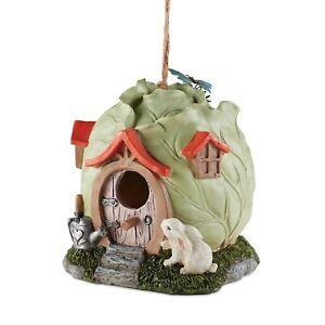 Head of Cabbage birdhouse Bird House Yard Garden Decor