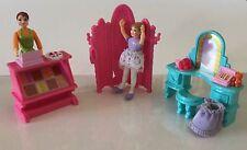 Fisher Price CANDY SHOP DANCE STUDIO Replacements Dollhouse Ballerina Desk Shop