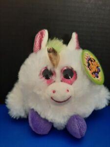 "Fiesta Toys Lubby Cubbies Small Plush Animal - 3.5"" Unicorn"