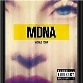 Madonna - MDNA World Tour (Parental Advisory/Live Recording, 2013) Double CD set