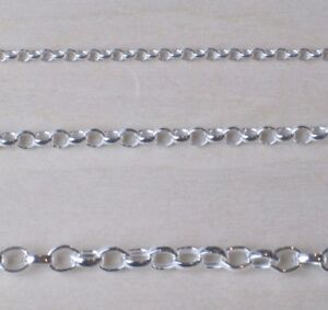 """925 Sterling Silver Belcher Extender Safety Chain 3"""" inches SELECT WIDTH"""
