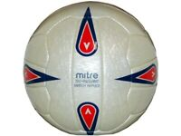 Mitre Iso England Match Replica Fußball Spielball Match Ball Gr.5 Football weiß