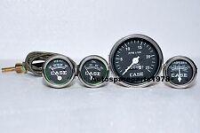 Case Tractor Temperature,Tachometer, Oil Pressure ,Ammeter Gauge Set