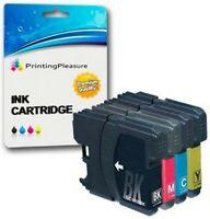 4 Compatibili LC1100 LC980 Cartucce d'inchiostro per Brother DCP-145C 165C 195C