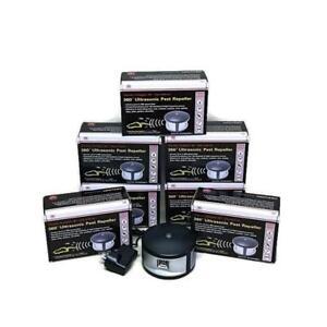 Enviro Bug Control - 360 Degree Ultrasonic Pest Repeller - Extreme - 7 Pack