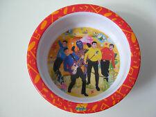 New listing The Wiggles Kids Bowl Melamine Feeding Dish 2005