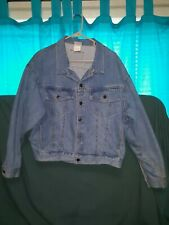 Vintage Peanuts Denim Jacket Size Large