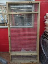 Aviary Panels 6ft x 3ft 19G Wall Panel Aviary Run Chicken Rabbits Puppy Dogs