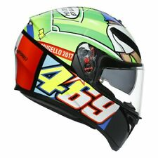 AGV K3 SV Rossi Mugello 2017 Nicky Hayden tribute VR46 Rossi Helmet size large
